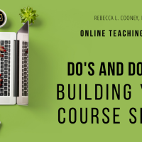 Blackboard Do's & Don'ts: Quick tips on building your course space