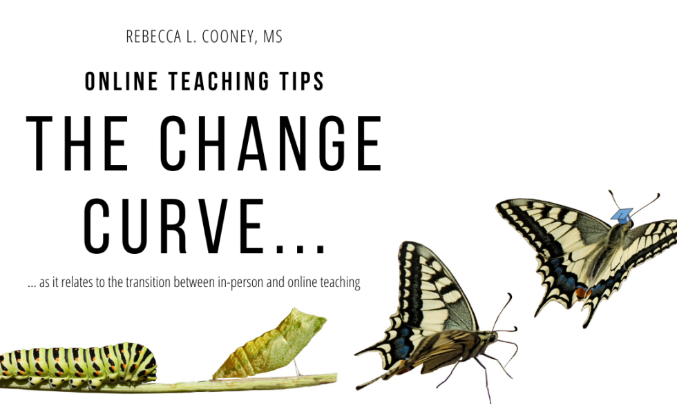 Online Teaching Tips - Change Curve