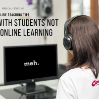 "Meet the ""meh"" student & 5 things to know about those who are not used to taking online classes :)"