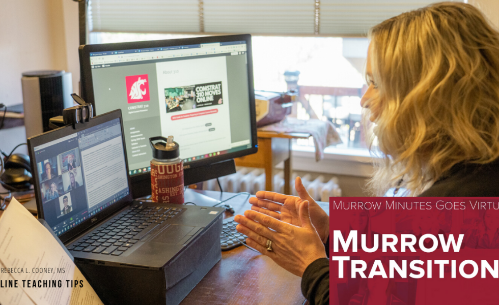 Online Teaching Tips - Murrow Transitions