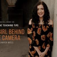 Sawyer Moss... daughter, student, photographer, budding entrepreneur