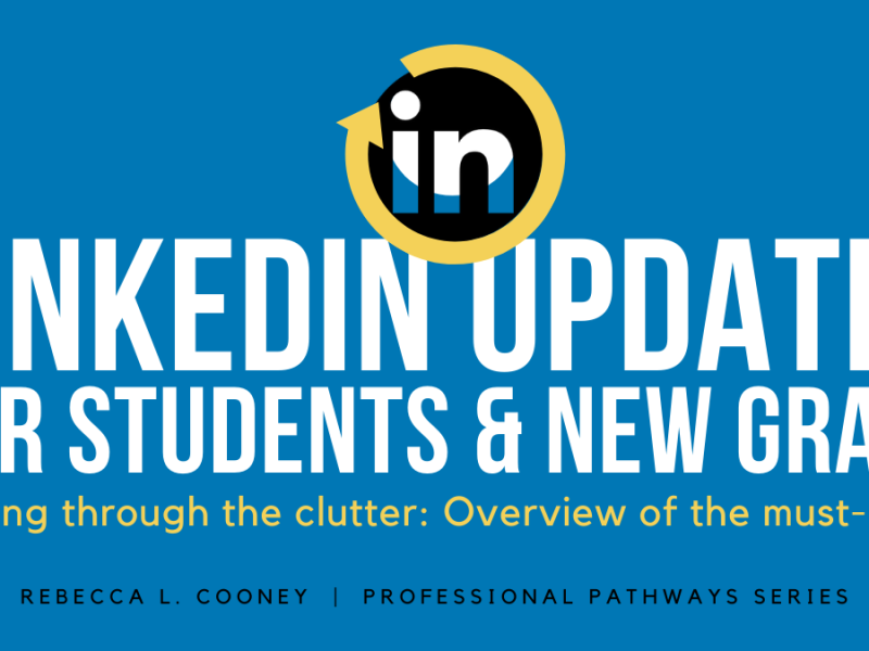 Professional Pathways - LinkedIn